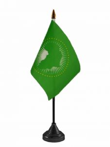 AFRICAN UNION - Table flag